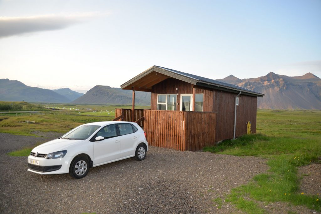 This lovely cabin was an example of the type of non-hotel lodging that we reserved in Iceland