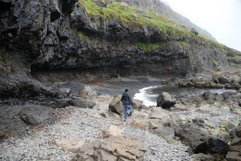 If we had gotten all of our first choices in lodging, we would never have found one of our favorite parts of the trip to Iceland - Easter Beach
