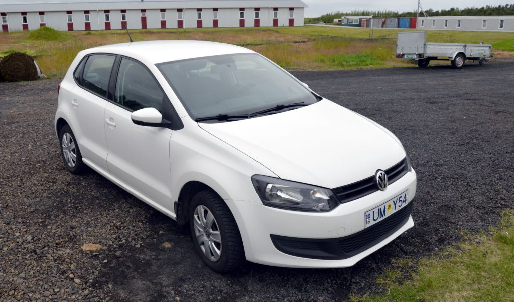 This little Volkswagen Polo from Firefly car rental was to be our ride around the island