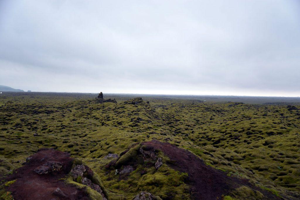 The Eldhraun lava fields are stunningly beatiful and quietly creepy