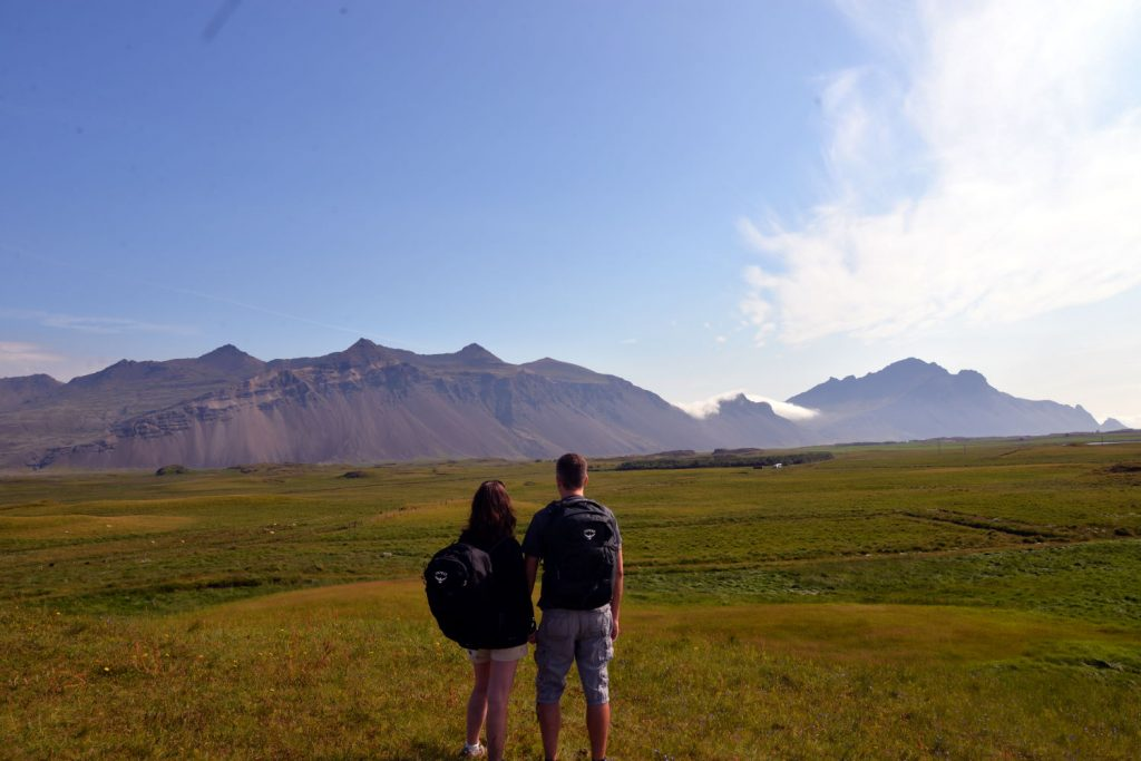 The views from the Aurora cabins in Hofn Iceland were incredible
