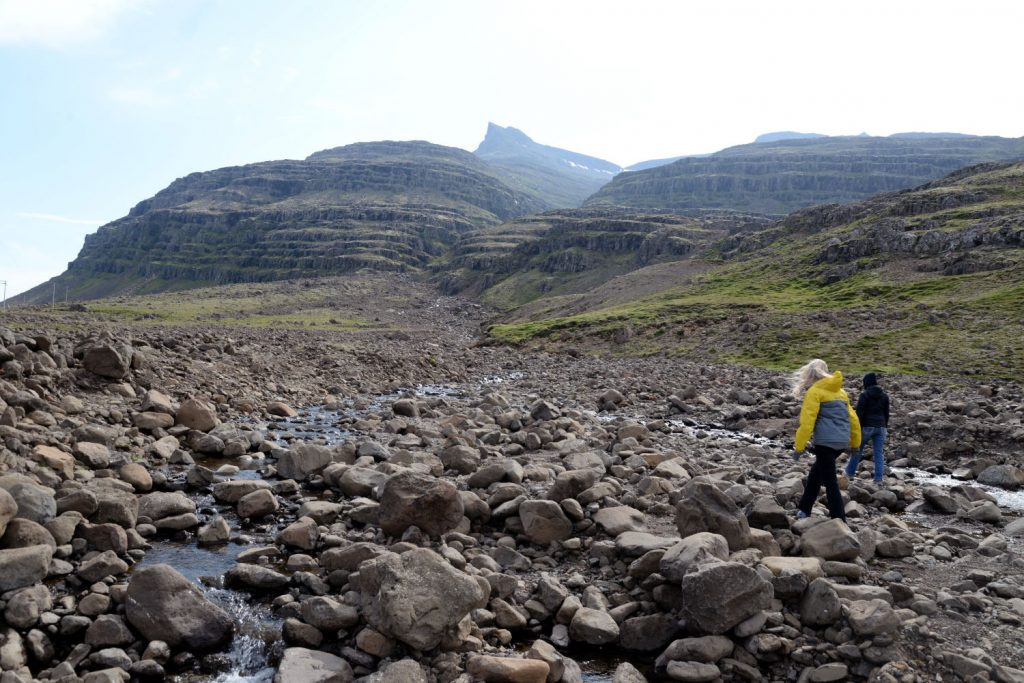 Hiking around Berufjordur gave us the chance to stretch our legs and explore smaller waterfalls