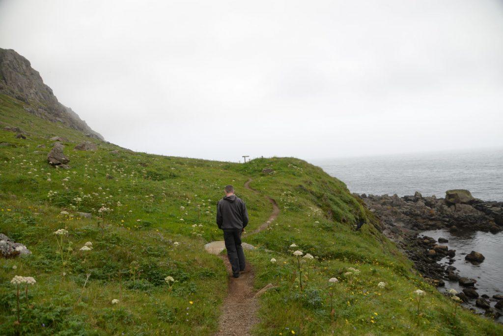 Just outside of Neskaupstadur Iceland is a lovely peat bog where nature envelopes you