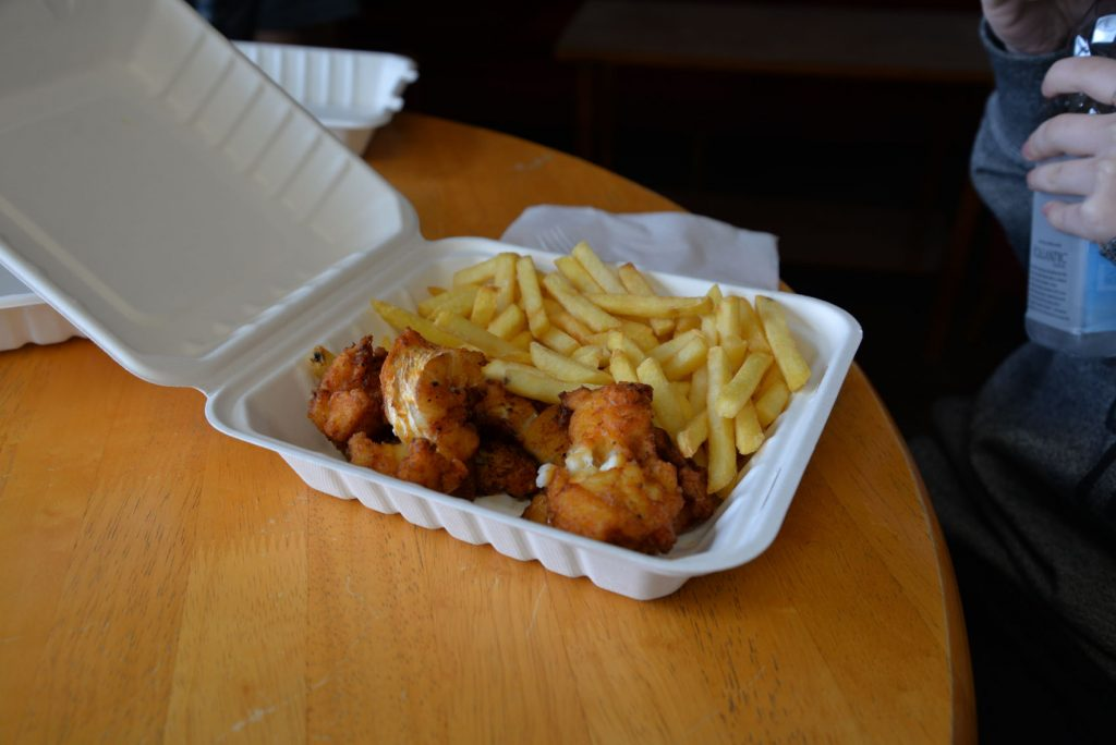 The fish and chips in Husavik were AMAZING!
