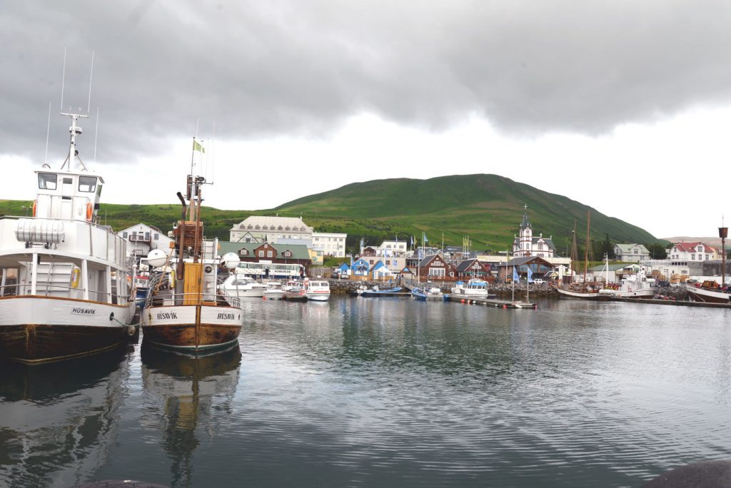 Husavik is a quaint harbor town in the north of Iceland