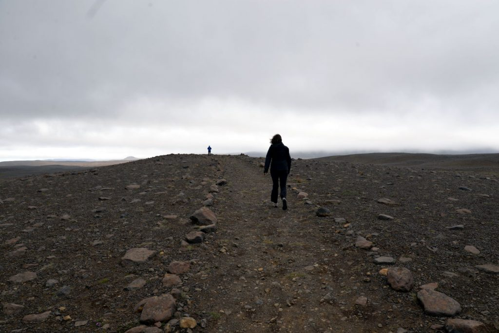 Holsfjoll is a rocky, desolate region of Iceland that almost feels like you are on Mars