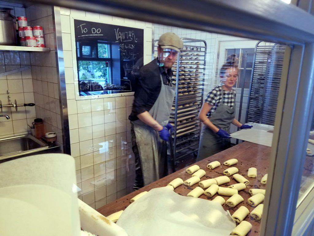 Flatlanders In Iceland - Braud and Co bakery inside in downtown Reykjavik
