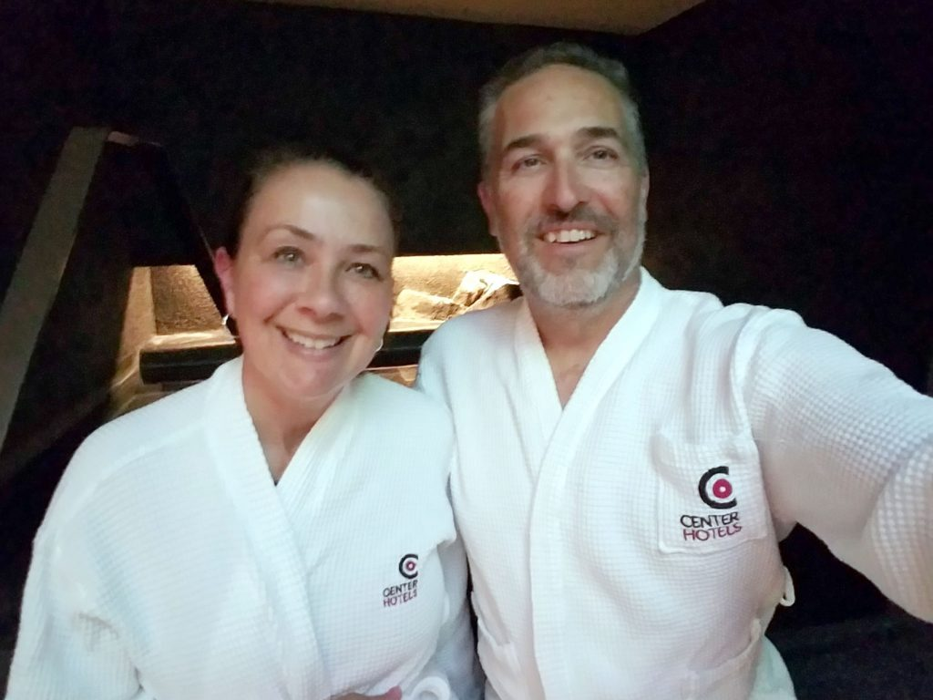 Flatlanders In Iceland - Well-deserved spa evening at the Center Hotel in downtown Reykjavik